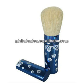 blue aluminum handle retractable brush foundation