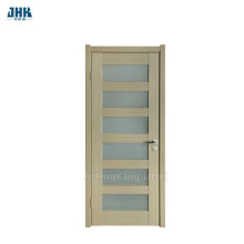 JHK 6 Panel Frosted Glass PVC Door
