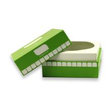 Caja de embalaje de cartón marfil Impresión personalizada de cajas de cartón