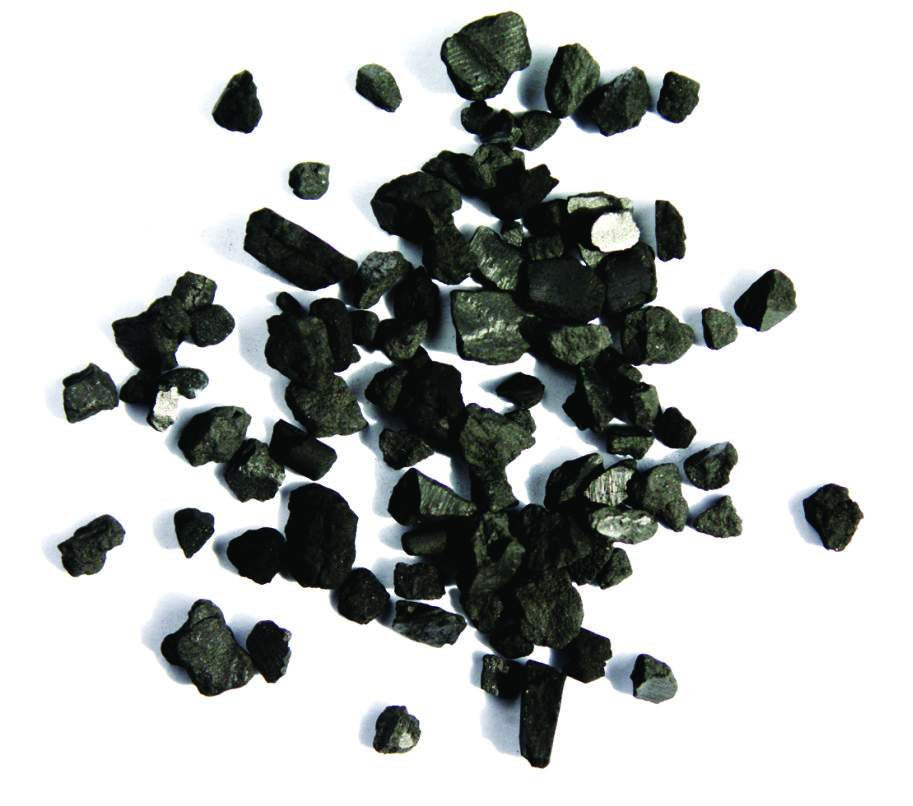 Granular pelletized berbasis Anthracite
