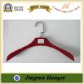 Plastic Business Suit Hanger With Velvet