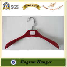Plastic Business Suit Hanger With Velvet