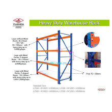 Heavy Duty Storage Stand Shelving Warehouse Rack (YD-001B)