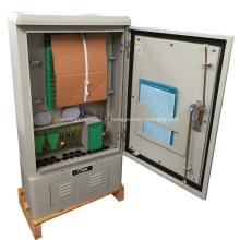 Armoires en acier inoxydable à fibre optique à connexion croisée OCC