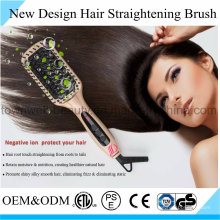 Schnelles Haar, das Bürste Eisen mit MH Heater glättet