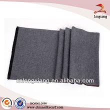 Kundenspezifische Männer doppelte plain pur Seide gewebte Schal