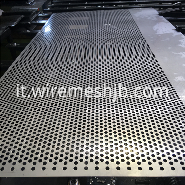 Perforated Metal Mesh Sheets