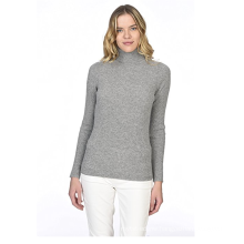 PK18A37HX Women's 100% Pure Cashmere Sweater Long Sleeve Pullover