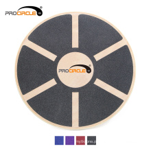 Placa de equilíbrio de madeira ProCircle Fitness Gym