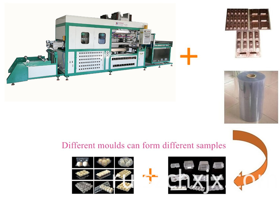 Fully automatic vacuum thermoforming machine working principles