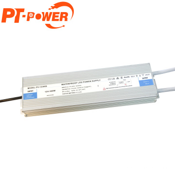Wholesale 300W LED Driver IP67 Waterproof LED Power Supply 12V DC Output Transformer with best price