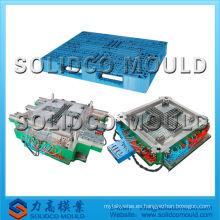 Molde de inyección de paletas de plástico, moldeo de reciclaje de HDPE logístico