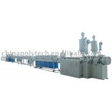 Machine d'extrusion tuyaux PEHD silicone base / plastic machine