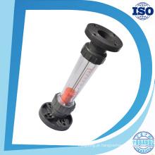 Medidor de fluxo de água Lzb-100s Rotâmetro com tipo de flange