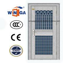 Porte en verre de sécurité en acier inoxydable de haute qualité ((W-GH-19)