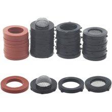 Hose Rubber Seals Gasket and Mesh Filter Set