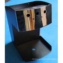 Carcasa de acero inoxidable con acabado de espejo para máquina de café