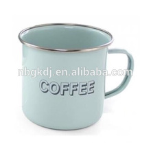 enamel coated coffee mugs and cups & Chinese enamelware wholesale