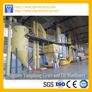 Line Produksi minyak kuman jagung