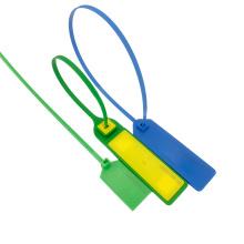 Etiqueta de braçadeira de vedação de cabo de plástico NFC UHF