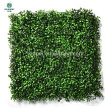 künstliche BOXWOOD Heckenmatte grünes Laub für Wanddekor