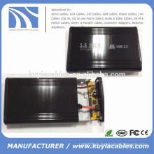 Aluminiumlegierung USB 2.0 SATA und IDE Combo 3.5inch externe Festplatte / HDD Gehäuse