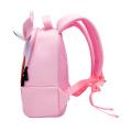 Sac à dos brodé 3D Sac d'école pour enfants Licorne rose