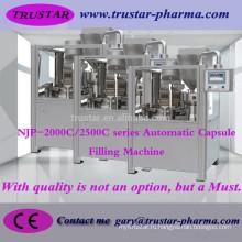 Автоматическая машина для наполнения капсул NJP-2000C (колесо с канавкой) Фармацевтическое оборудование