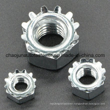 Carbon Steel K-Type Lock Nut with Zinc Plated (CZ092)