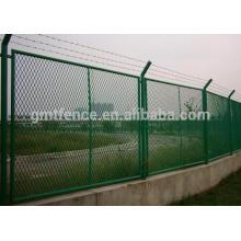 Красочный расширенный забор сетки сетки