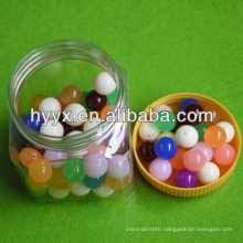Round Plastic Beads/DIY Loose Beads
