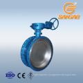wholesale wcb triple eccentric butterfly valve electric actuator pn16 electric actuator butterfly valve