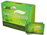 Green Coffee Bean Extract Weight Loss Capsules Stimulant Free For Dietary Supplement