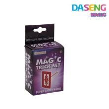 Más nuevo juego mágico trucos de magia profesional, juguetes mágicos promocionales juguetes mágicos de plástico