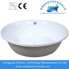 Embedded bathtub acrylic tub