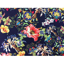 Poly Span Stretch Printed Fabric