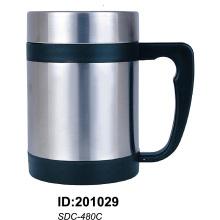 Mug en acier inoxydable double sdc-480c
