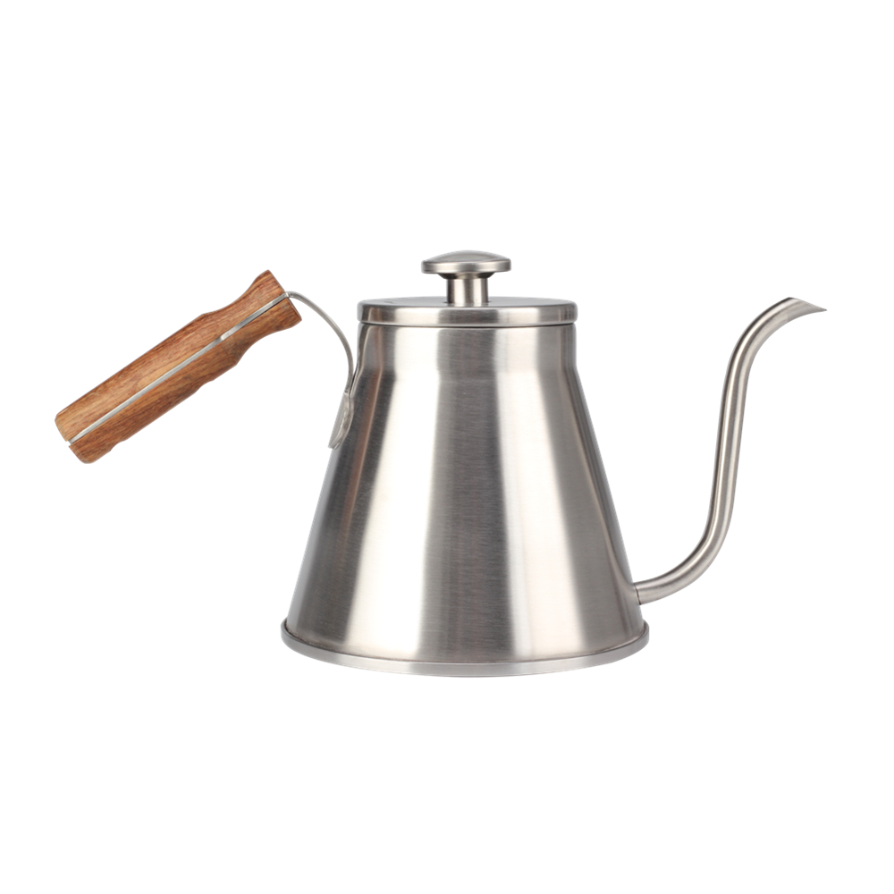 Wooden Handle Pour Over Coffee Kettle