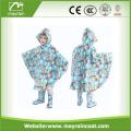 Logo Printed Kids Pvc Wholesale Rain Poncho