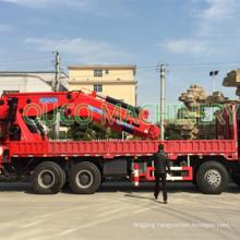 OUCO Telescopic Boom Equipment Truck Mounted Crane