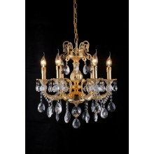 Living Room Golden Color Crystal Chandelier (cos9093)