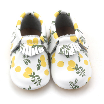 Reka Bentuk Popular Moccasins Baby Dolls Leather Shoes