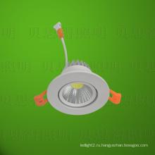 Светодиодный светильник вниз 3W COB