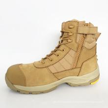 Wholesale High Quality Genuine Top Layer Nubuck Leather Light Slip Resistant Construction EN345 Workmans Safety Shoes