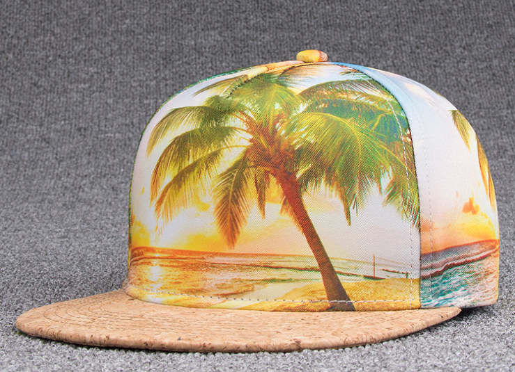 Sublimation Printing Hip Hop Cap Tree
