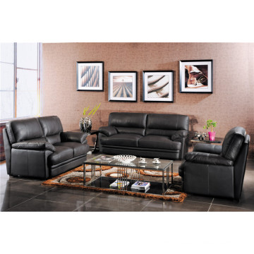 Genuine Leather Chaise Leather Sofa Electric Recliner Sofa (724)