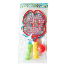 Plastic Sport Toys Cartoon raqueta de playa con 1 raqueta de bolas (10170139)