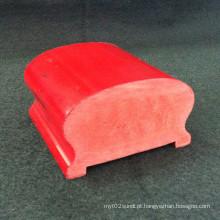 Corrimão Porch PVC Hs-6540 Superfície Lisa Muitos Colrs Disponível Indoor E Exterior Uso