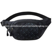 Stylish Nylon Waist Bags, Adjustable Waist Strap, Great Design for Travel, SportsNew