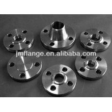 Stainless steel pipe DIN 2545 slip on flange